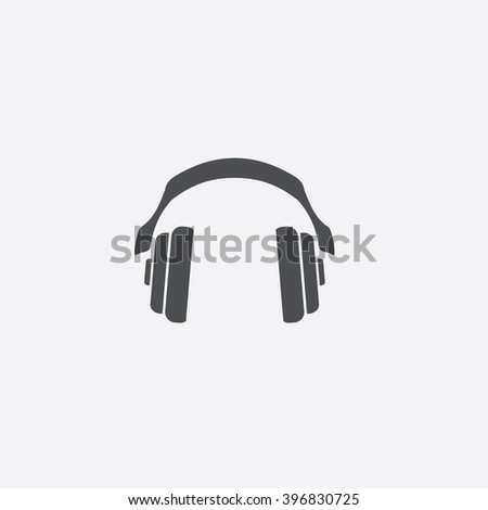 Headphone Icon Vector.
