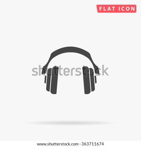 headphone icon vector