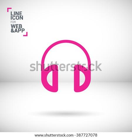 headphone isolated minimal