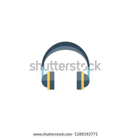 headphone vector illustration