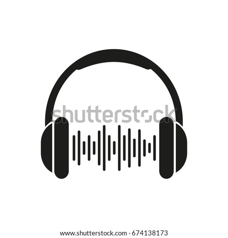 Headphone. Vector. Illustration.