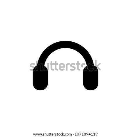 headphones from sound icon