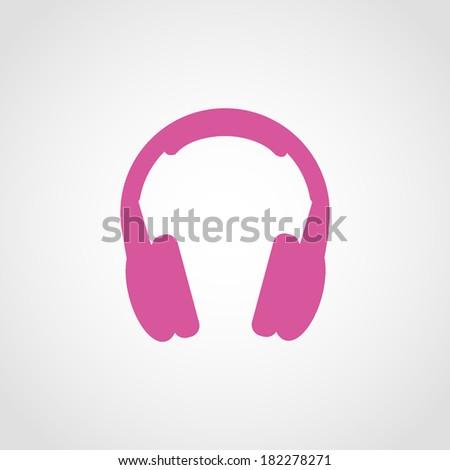 headphones icon isolated on