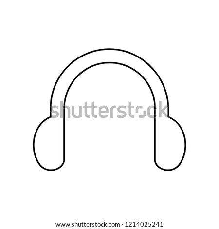 headphones symbol sign icon