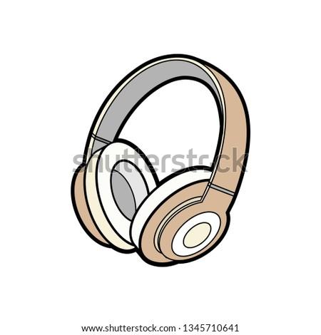 headphones wireless brown