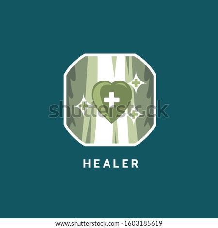 Healer/Heart Logo Design Full Color