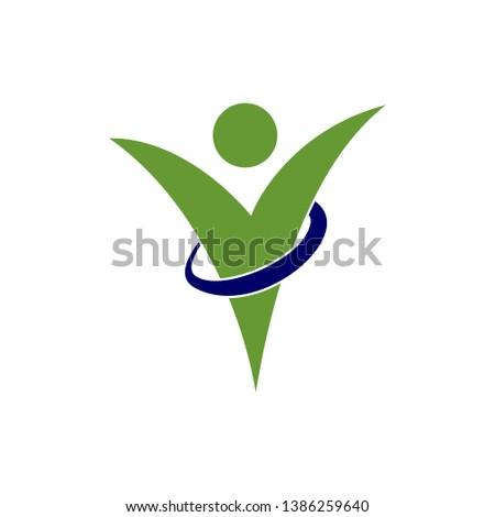 Health Abstract Figure Illustration Vector Design