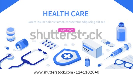 health care concept with text
