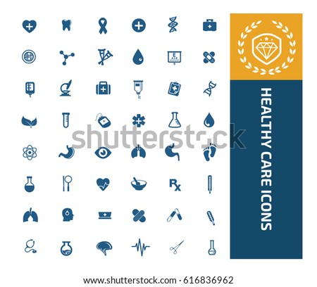 Health care icon set,clean vector
