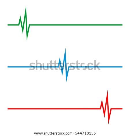 Health Care Pulse Logo Template
