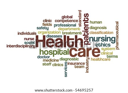 Health care - Word Cloud