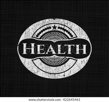 Health chalk emblem