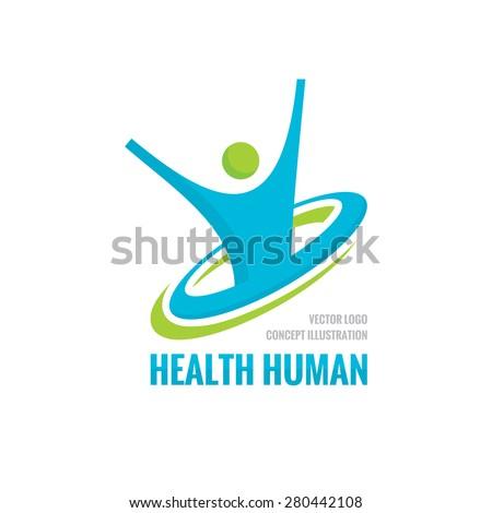 health human character   vector