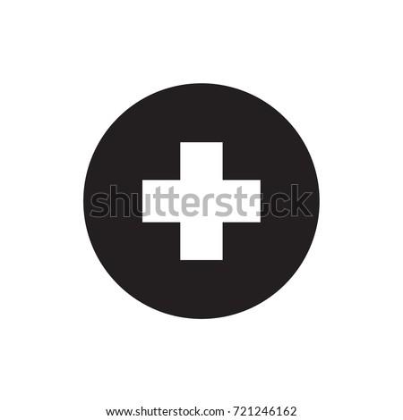 health icon vector.  glyph style