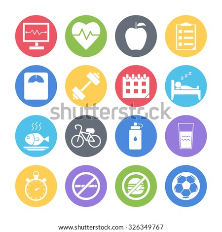 Health care icons collection Vector  Free Download
