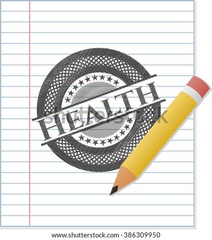Health pencil effect