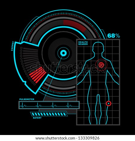 Health scanner interface