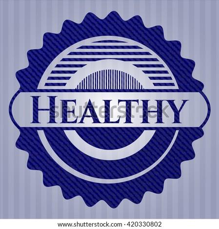 Healthy denim background
