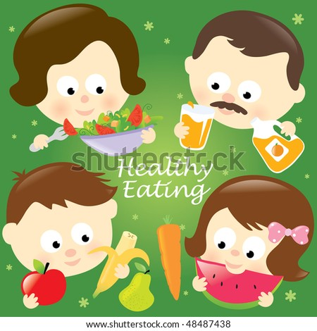 clipart family eating. wallpaper clipart family