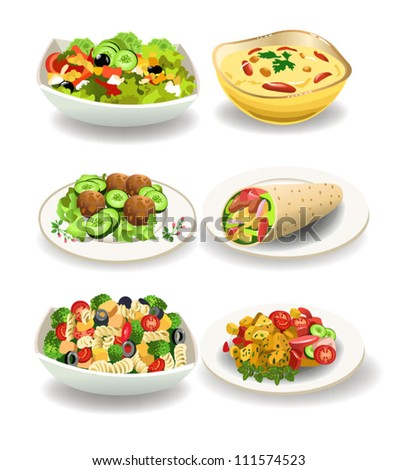 Stock Photo healthy food