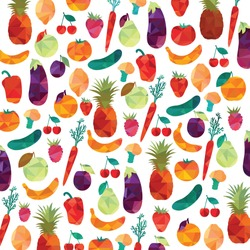 Healthy food. Colorful background
