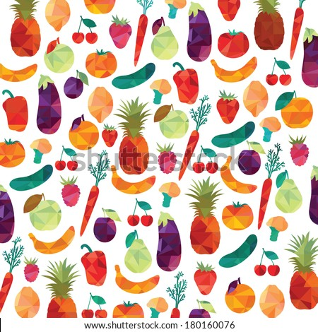 Healthy food. Colorful background #180160076
