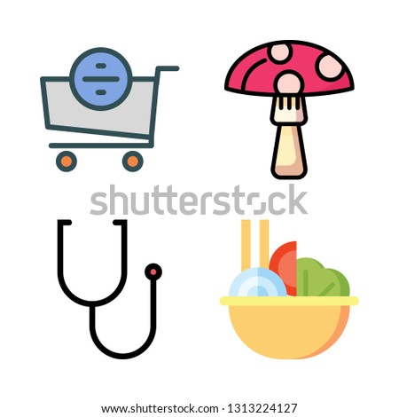healthy icons set. vector set about [ iconsRandom] icons set.