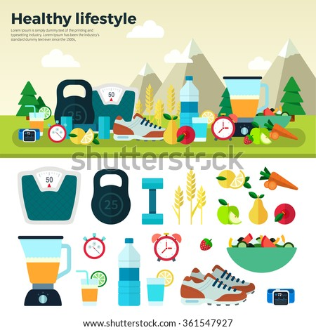 healthy lifestyle sport