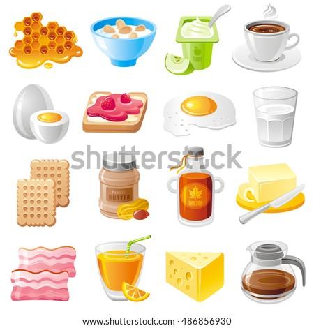 healthy organic breakfast food
