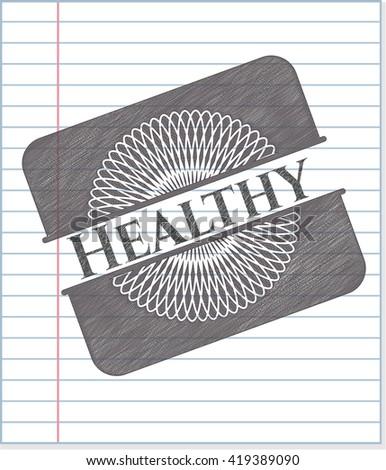 Healthy pencil effect