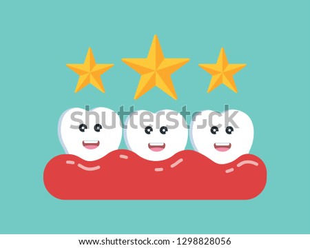healthy teeth  three star