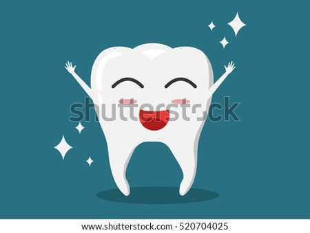 healthy tooth icon oral dental