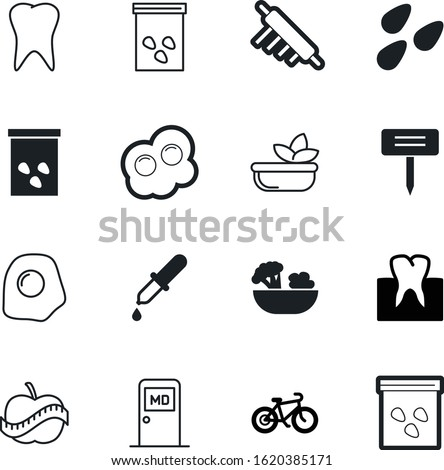healthy vector icon set such as: race, measuring, label, mountain, transportation, doctor, table, eyedropper, creative, round, liquid, office, hand, exercise, drop, biking, dough, diagnosis, apple