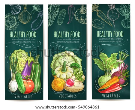healthy vegetables and