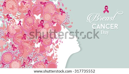 healthy woman face profile