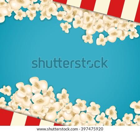 Free Popcorn Vector 1 Download Free Vector Art Stock Graphics