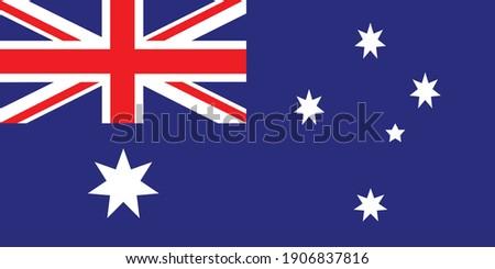 Heard Island and McDonald Islands flag national emblem graphic element Illustration template design
