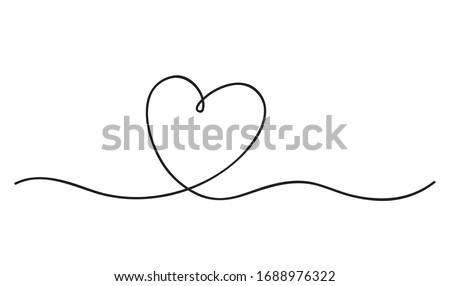 heart abstract love symbol