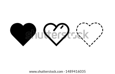 heart and love icon symbol