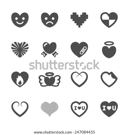 heart and valentine day icon