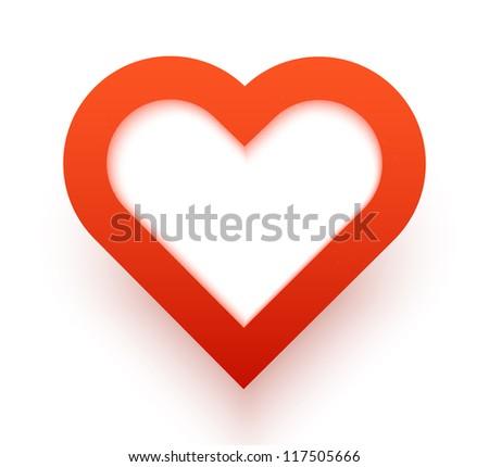 Heart applique background. Vector illustration for your design.