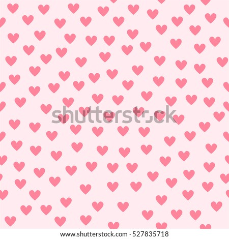 Heart background. Seamless vector pattern