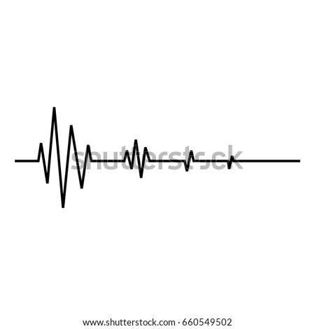 heart beat line  ekg death  die