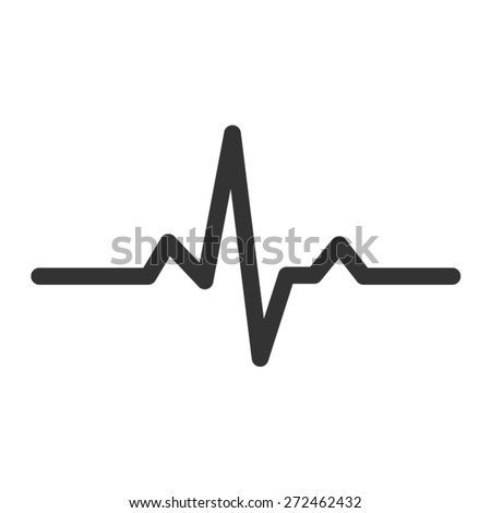heart beat monitor pulse line