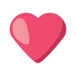 heart beating on white background vector illustration design