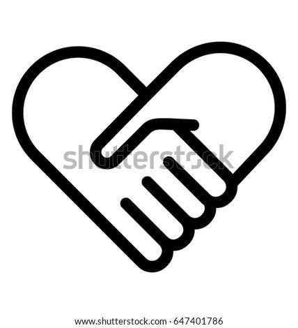 Heart Care Vector Icon