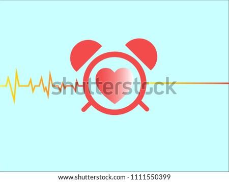 Heart clock and pulse