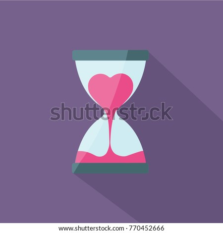 heart flow in hourglass and