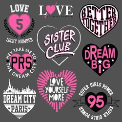 heart graphic for t shirt