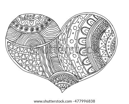 Heart. Heart of love.Heart vector illustration. Heart isolated on white background. Heart design.Heart color.Heart Element. Heart decor.Heart icon.Heart body.For printing, cloth, design.Heart romance.